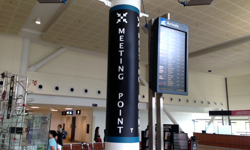 Transport: Brisbane International Airport Meeting Point for meeting your Chauffer or Driver