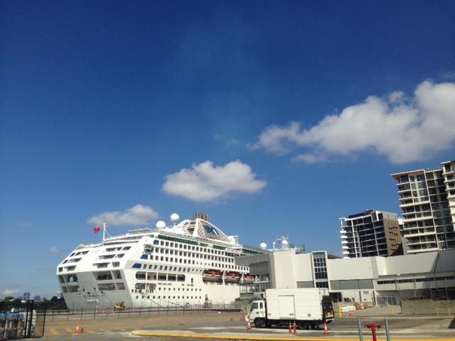Portside Wharf Hamilton Cruise Terminal  Transfers